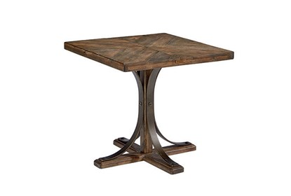 Magnolia Home Iron Trestle End Table By Joanna Gaines | Living Spac