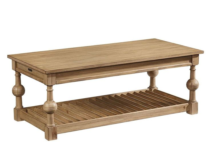 With well-loved farmhouse styling, our Louver Coffee Table has .