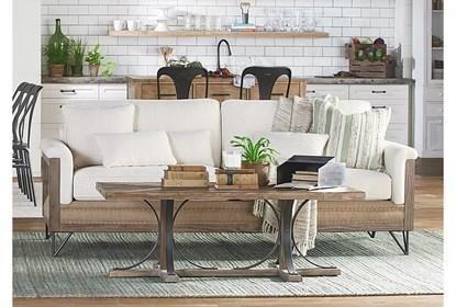 Magnolia Home Paradigm Sofa By Joanna Gaines | Magnolia homes .