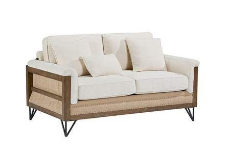 Display product reviews for MAGNOLIA HOME PARADIGM LOVESEAT BJG .