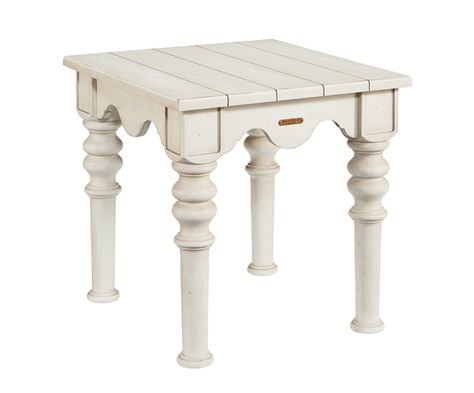 Magnolia Home by Joanna Gaines Farmhouse Scallop Side Table .
