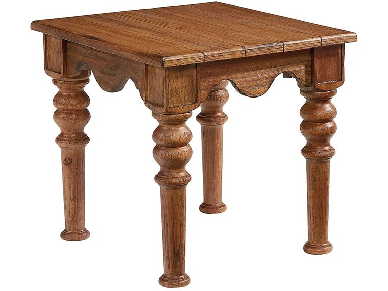 Magnolia Home by Joanna Gaines Living Room Scallop End Table .
