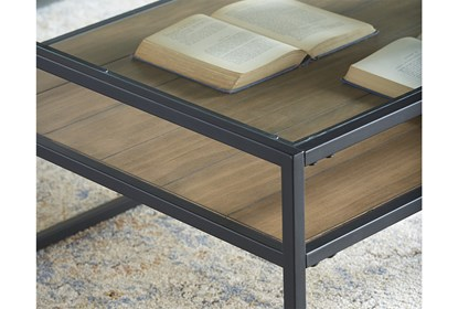 Magnolia Home Showcase Coffee Table By Joanna Gaines | Living Spac