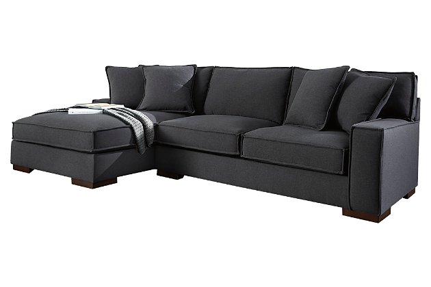 Gamaliel 2-Piece Sectional with Chaise | Ashley Furniture HomeSto
