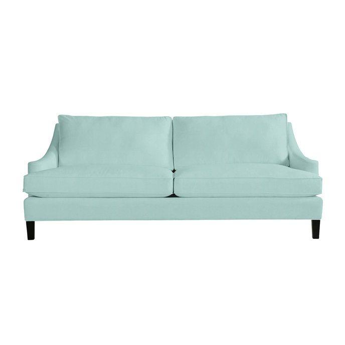 Manchester Upholstered Sofa | Elegant sofa, Walnut sofa .