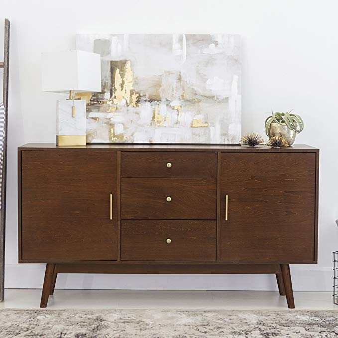 Amazon.com: New 60 Inch Wide Mid-Century Modern Television Stand .