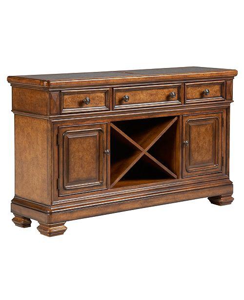 Furniture Closeout! Mandara Credenza & Reviews - Furniture - Macy