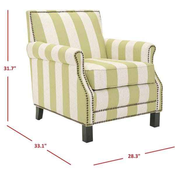 Shop Safavieh Mansfield Green Club Chair - On Sale - Overstock .