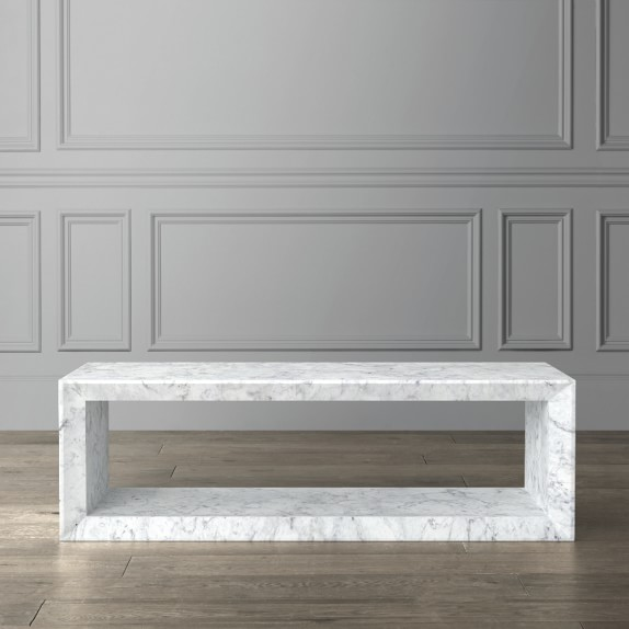 Pierre Marble Coffee Table, End Tables | Williams Sono
