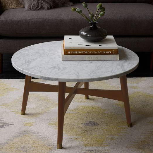 Reeve Mid-Century Coffee Table - Marb