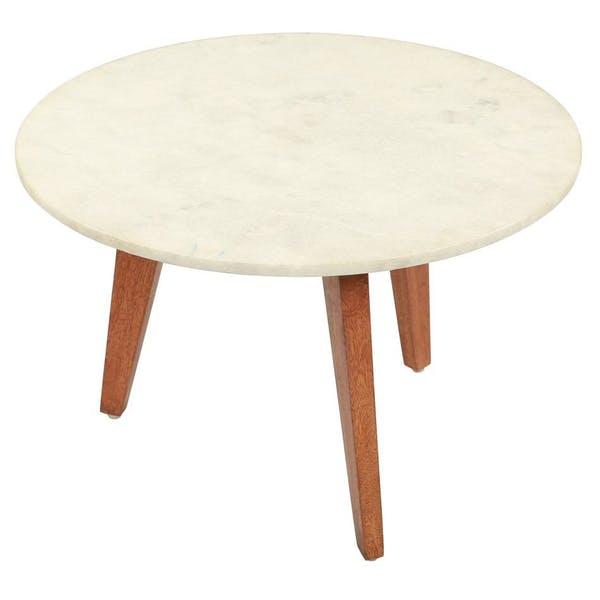 Zuo Axton Small Coffee Table Stone & Brown – Modish Sto