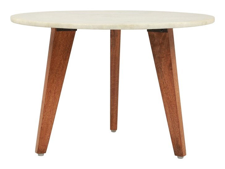 Axton Small Coffee Table Stone & Brown, 17015 - House Bou