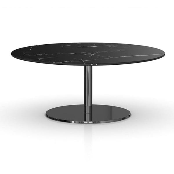 Modloft Bleecker Coffee Table in White/Black Marble – Modish Sto