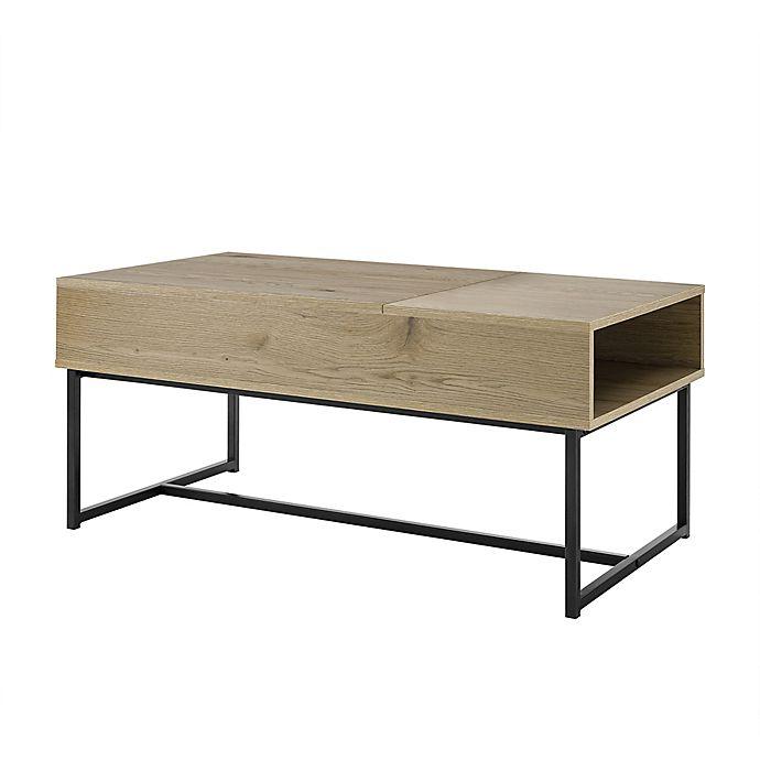 Weybridge Lift-Top Coffee Table in Walnut   Bed Bath & Beyo