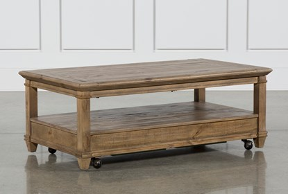 Market Lift-Top Coffee Table | Living Spac