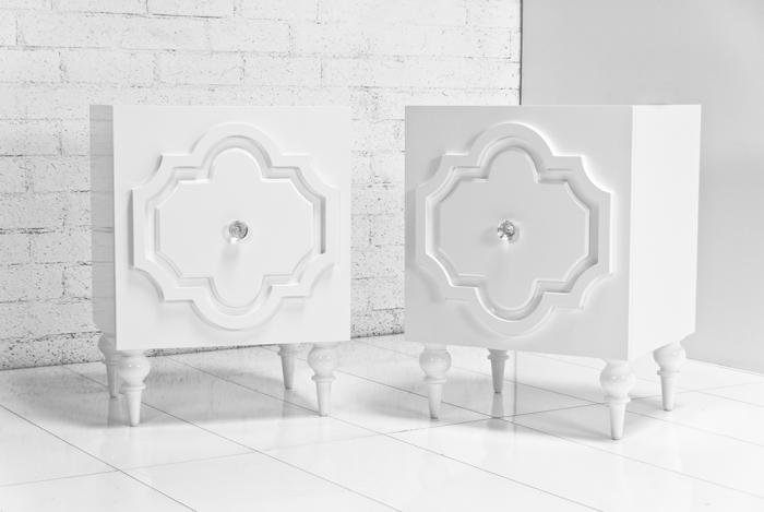 www.roomservicestore.com - Marrakesh Side Table in White Glo