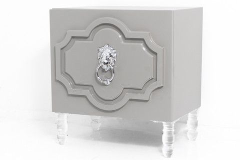 Marrakesh Side Table in Greysto
