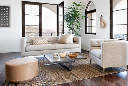 Matteo Arm Chair By Nate Berkus And Jeremiah Brent | Living Spac