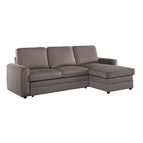 Reversible Chaise Sectional: Amazon.c
