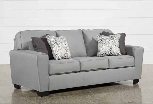 Mcdade Ash Sofa | Couches living room comfy, Grey sofa decor .