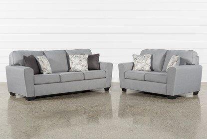 Mcdade Ash 2 Piece Living Room Set | Living Spac
