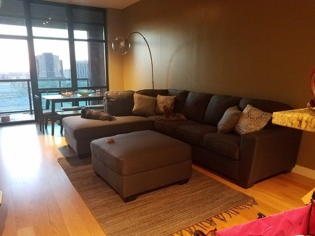 Ashley Mcdade Graphite 2 Piece Sectional Sofa with Left Arm Facing .