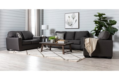 Mcdade Graphite Chair   Living Spac