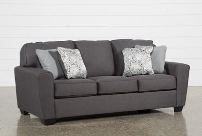 Mcdade Graphite Sofa   Living Spac