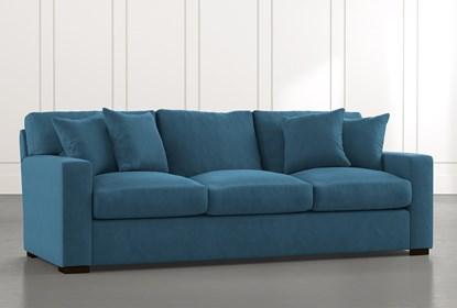 Mercer Foam II Teal Sofa | Living Spac