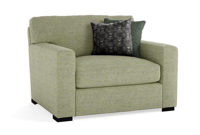 Mercer Foam II Oversized Chair | Oversized chair, Chair, Beige .