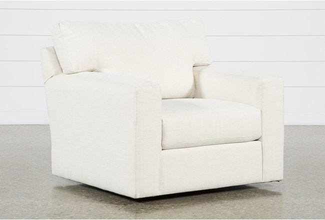 Mercer Foam II Swivel Chair | Swivel chair, Chair, Leather swivel .