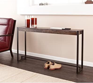 Amazon.com: SEI Furniture Macen Narrow Skinny Console Table, 54 .