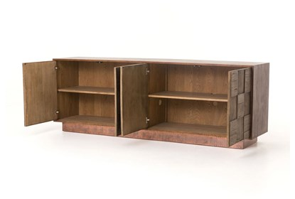 Reclaimed Elm 91 Inch Sideboard | Living Spac