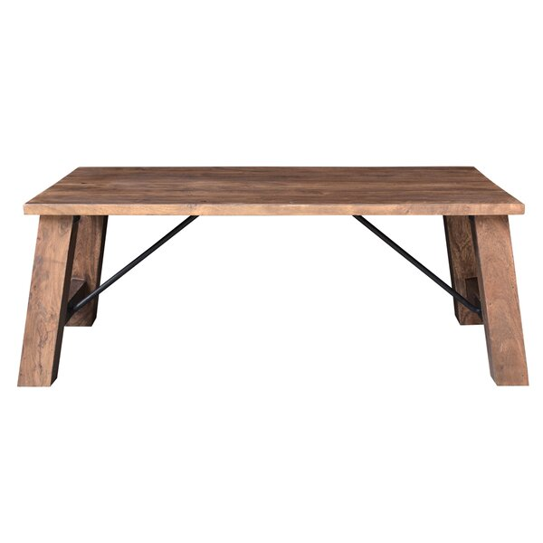 Loon Peak Mill Valley Solid Wood Coffee Table | Wayfa