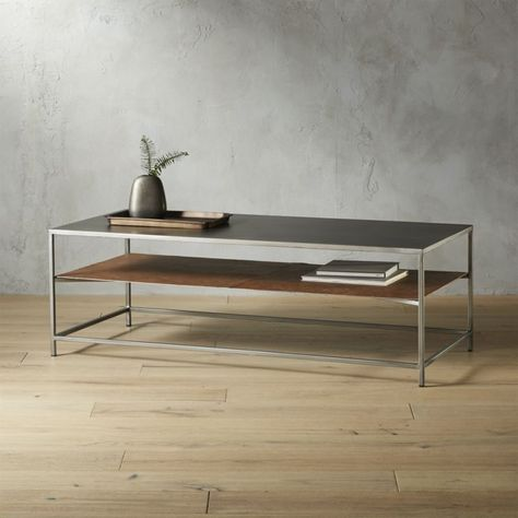 Shop Mill Large Leather Coffee Table. Hettler. Tüllmann gave our .