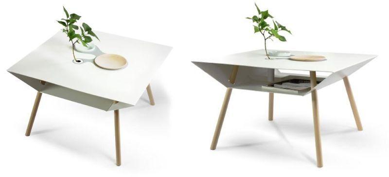 Personalized Storage Tables : minimalist coffee tabl