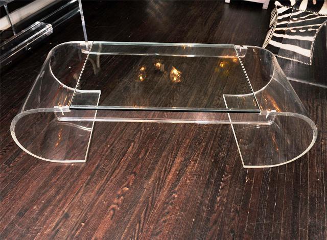 Modern Acrylic Coffee Table Designs — Great Home Dec