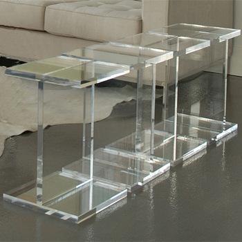 Clear Acrylic Coffee Table Modern Acrylic Small Table,Cheap .