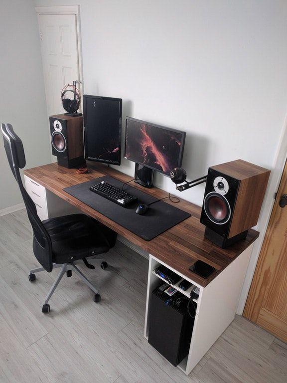 20+ Futuristic Modern Computer Desk and Bookcase Design Ideas .
