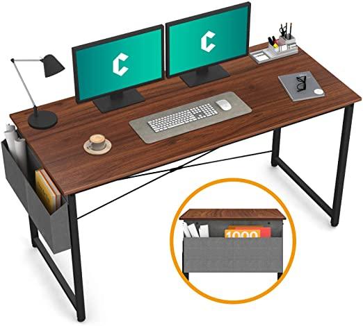 "Amazon.com: Cubiker Computer Desk 55"" Home Office Writing Study ."