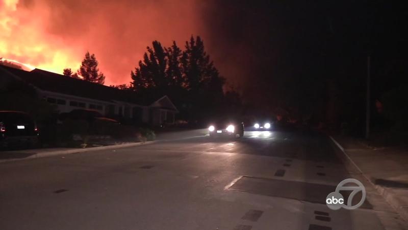 Moraga Fire: Residents rush to evacuate during PG&E power shutoff .