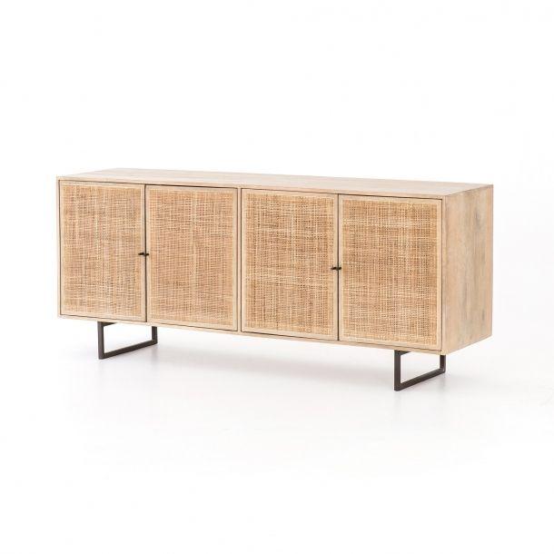 Carmel Sideboard-Natural Mango | Burke decor, Mango wood, Furnitu