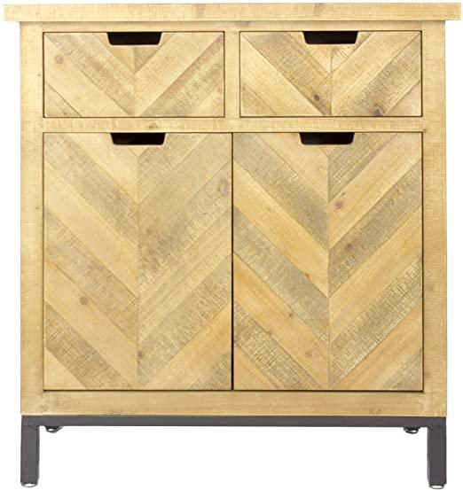 Amazon.com: Heather Ann Creations Knightsbridge 2 Door Wood .