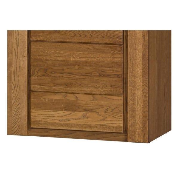 Shop Velvet Natural Oak Wood/Veneer 2-door Display Cabinet .