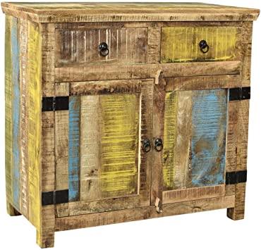 Amazon.com - Timbergirl Suman Solid Mango Wood 2 Door Sideboard .