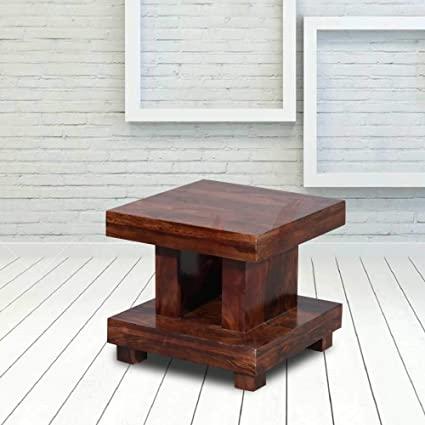 NAVEEN ARTS - Solid Wood Peg Table & End Table   Living Room Peg .