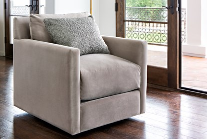 Nichol Swivel Accent Chair By Nate Berkus And Jeremiah Brent .