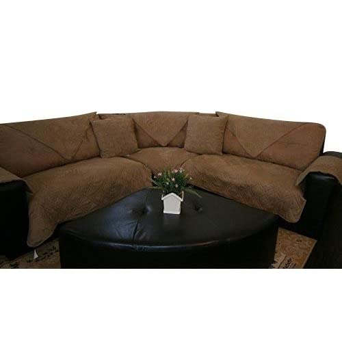 Sectional Couch Covers Sure Fit Stretch: Amazon.c