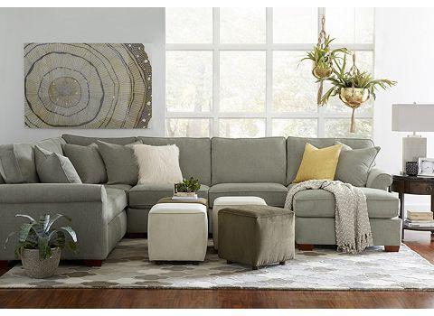 Norfolk Sectional | Living room decor neutral, Living room decor .