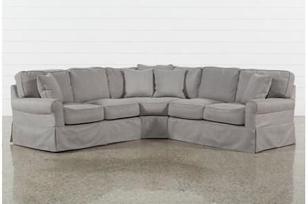 Norfolk Grey 6 Piece Sectional | Products | Sectional sofa .